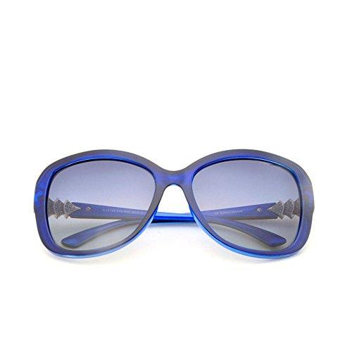 extérieur lumière à anti soleil convient et monture soleil lunettes Lunettes éblouissement La uv la avec so lunettes Hommes de la anti polarisées de conduite de intégrale en lunettes conduite Blue à pour 0xqUF