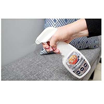 303 (30675) Fabric Stain Guard and Protectant for Home Interior Fabrics, Cushions, Upholstery and Carpets, 16 fl. oz.: Automotive