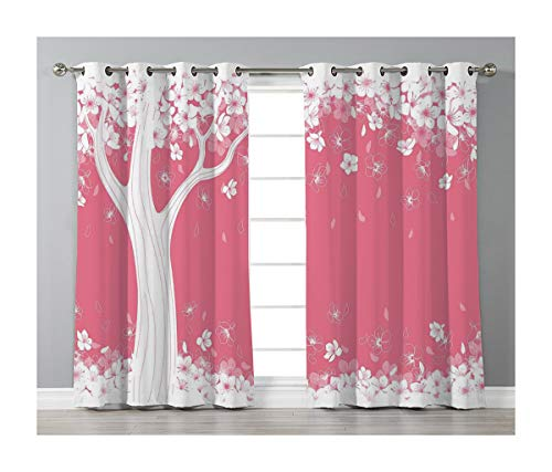 (Goods247 Blackout Curtains,Grommets Panels Printed Curtains Living Room (Set of 2 Panels,55 95 Inch Length),House Decor)
