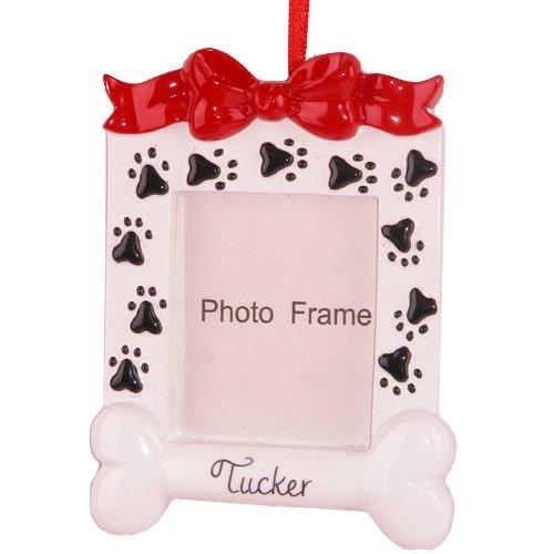 Dog Photo Frame Ornament