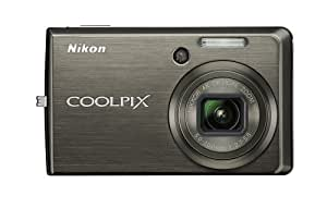 Nikon Coolpix S600 10MP Digital Camera with 4x Wide Angle Optical Zoom with Vibration Reduction (Slate Black)
