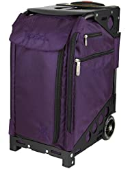 Zuca Pro Artist - Royal Purple Bag, Black Frame, 5 Standard pouches + TSA w/Purple Travel Cover / 89055900515