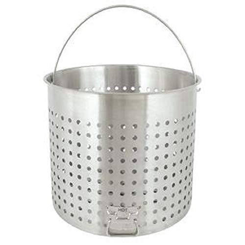 - Bayou Classic B182, 82-Qt. Stainless Perforated Basket