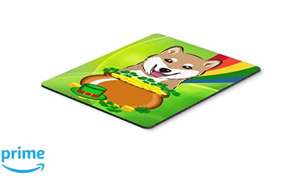 Multicolor Large Carolines Treasures SS8629MP Shiba Inu Mouse Pad Hot Pad or Trivet