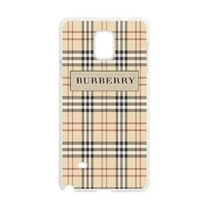 Burberry DIY case For Custom Case Samsung Galaxy Note 4 N9100 QW862650