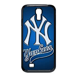 Samsung Galaxy S4 I9500 Black Case - New York Yankees Galaxy S4 Snap On Hard Case - Aozzo