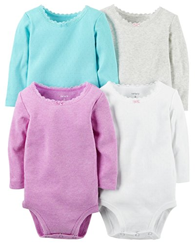 Carters Baby Girls Pack Bodysuits
