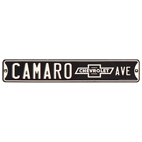 Open Road Brands Camaro Avenue Tin Street Sign