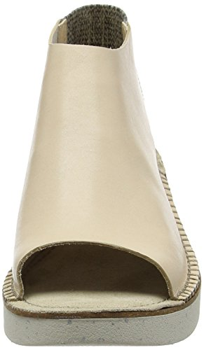 Clarks Sadia Soda, Sandales Bout Ouvert Femme Beige (Nude Leather)