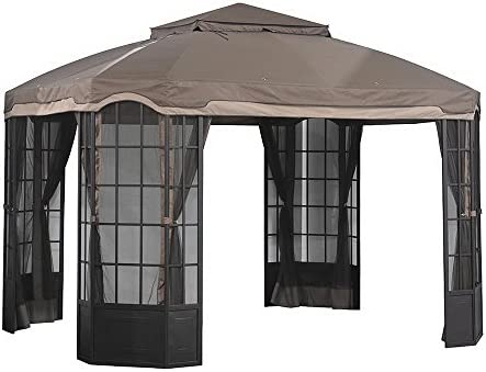Sunjoy Replacement Canopy Set for Sears Bay Window Gazebo