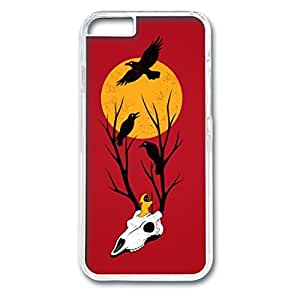 Hallowmas Picture Hard PC Transparent Case Fits Cover Back for iPhone 6 (4.7 inch)