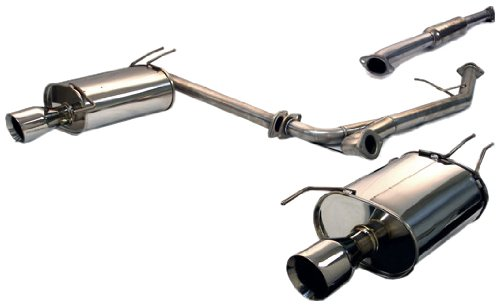 Tanabe T70093 Medalion Touring Cat-Back Dual Muffler Exhaust System for Acura TSX 2003-2006
