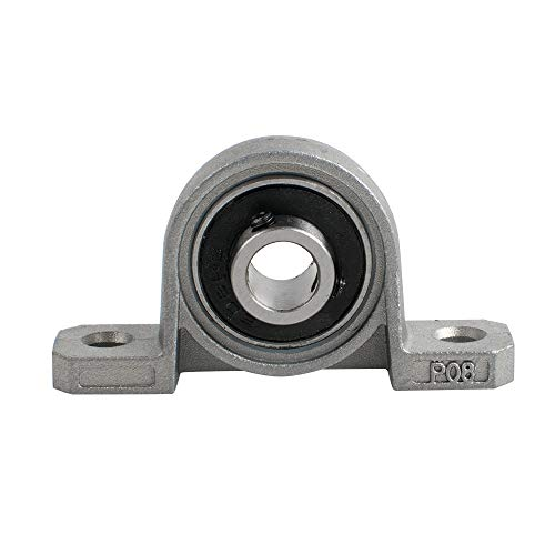 3D Printer Parts and Accessories, 8mm Bore Inner Ball Mounted Pillow Block Insert Bearing, 2 PCS