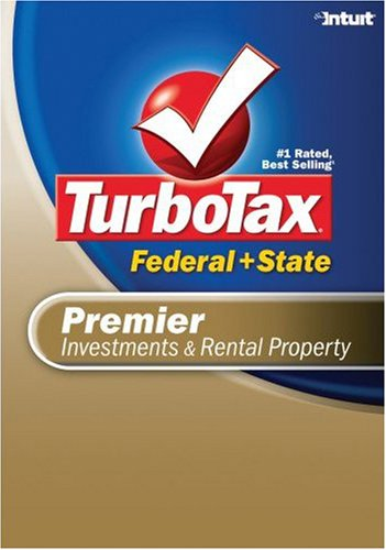 TurboTax Premier Federal + State 2007 [Download] [OLD VERSION] by Intuit