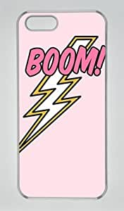 Boom-1 Iphone 4s Transparent Sides Hard Shell Case by Sakuraelieechyan