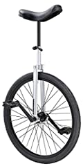 The diamondback cx unicycle is ideal for beginners to intermediate riders looking for a strong and durable unicycle that is built to last. The lugged steel frame features the sturdy cap-style bearing holder fitted with over-sized cartridge be...