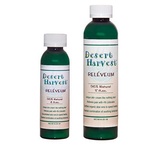 Desert Harvest Reléveum® Skin Repair Cream  4% Lidocaine 9