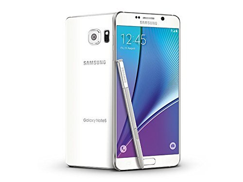 Samsung Galaxy Note 5 N920A 32GB GSM Unlocked - White (Renewed)]()
