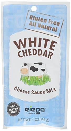 White Sauce Cheese Cheddar - Riega White Cheddar Cheese Sauce Mix (8-Pack)