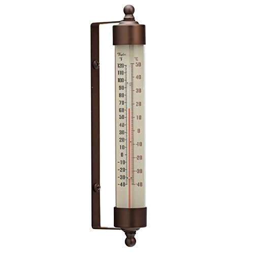 - Taylor Precision Products Heritage Spirit-Filled Metal Thermometer (7.5-Inch)