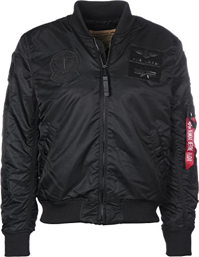 Nero Verde Uomo Jacket Pilot Industries 1 Ma Alpha 80YSOw