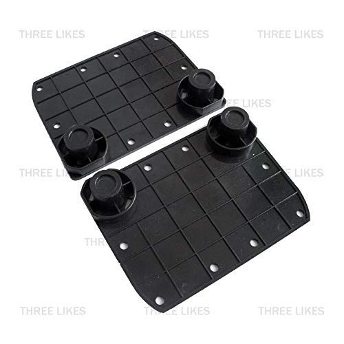 2 Pcs Hoverboard Rubber Sensor Gyroscope Pad Pedals Replacement Kit Set For Smart 6.5