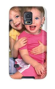 Demi Lovato Case's Shop 7034908K91927414 Fashion Tpu Case For Galaxy S5- Cute Baby Smile (2) Defender Case Cover