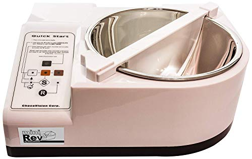 NEW Model ChocoVision Mini Rev - Chocolate Tempering Machine, 1.5 lb. Capacity