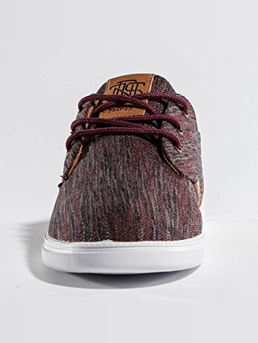 Djinns Homme Chaussures / Baskets Low Lau Rouge YlgDaW3we