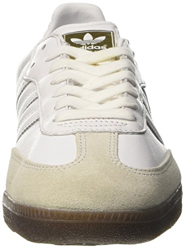 calzature Og Adidas Samba Scarpe Tennis Femminili Bianco Gomma Bianche Da Bianco Scarpe W0qqwUndA