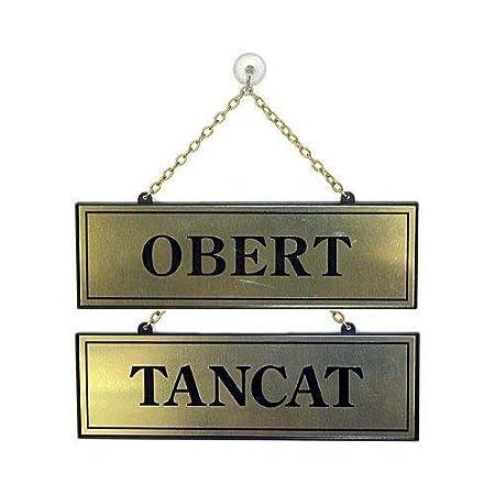 Rotulauto - Placa Tancat-Obert 113: Amazon.es: Bricolaje y ...