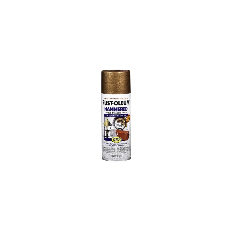 Copper Hammered Enamel Aerosol Spray Paint 210849 [Set of 6]