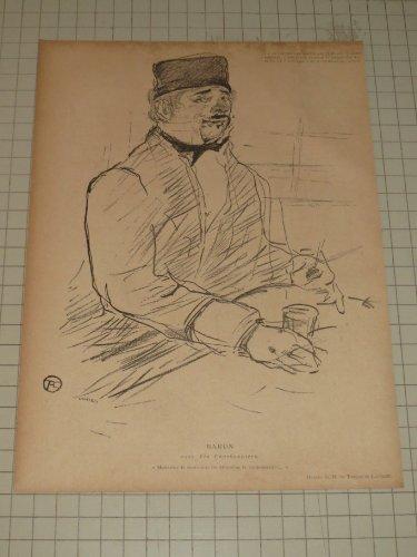 - Toulouse Lautrec Lithograph