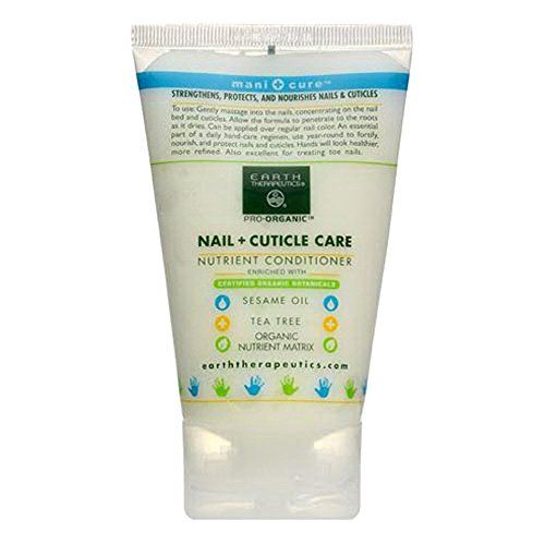 Earth Therapeautics Nail and Cuticle Care, 4 Fluid Ounce