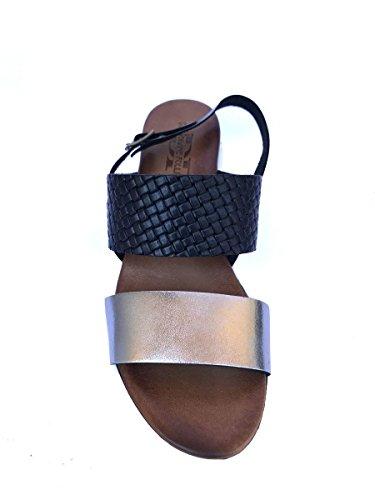 Divine Follie - Sandalias de vestir de Piel para mujer negro