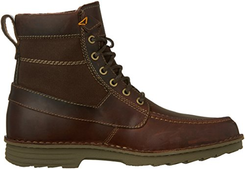 Leather Hi Sawtel Sawtel Mens Ankle Brown Boot Mens Clarks Clarks Hi qFRTn