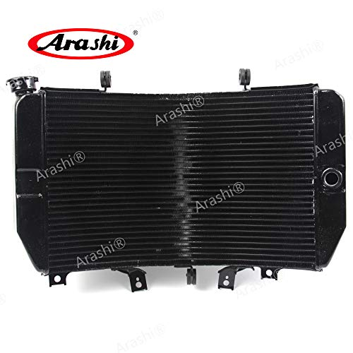 (Arashi Radiator Cooling Cooler for SUZUKI GSXR 1000 GSXR-Z1000 2001-2004 Motorcycle Replacement Accessories GSX R GSX-R GSXR1000 GSXR1000Z 1 Pcs Black 2002 2003)