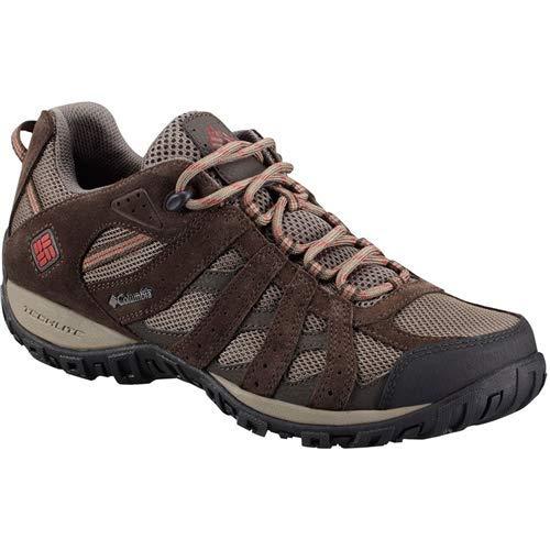 Columbia Men's Redmond Waterproof Hiking Shoe, Mud,