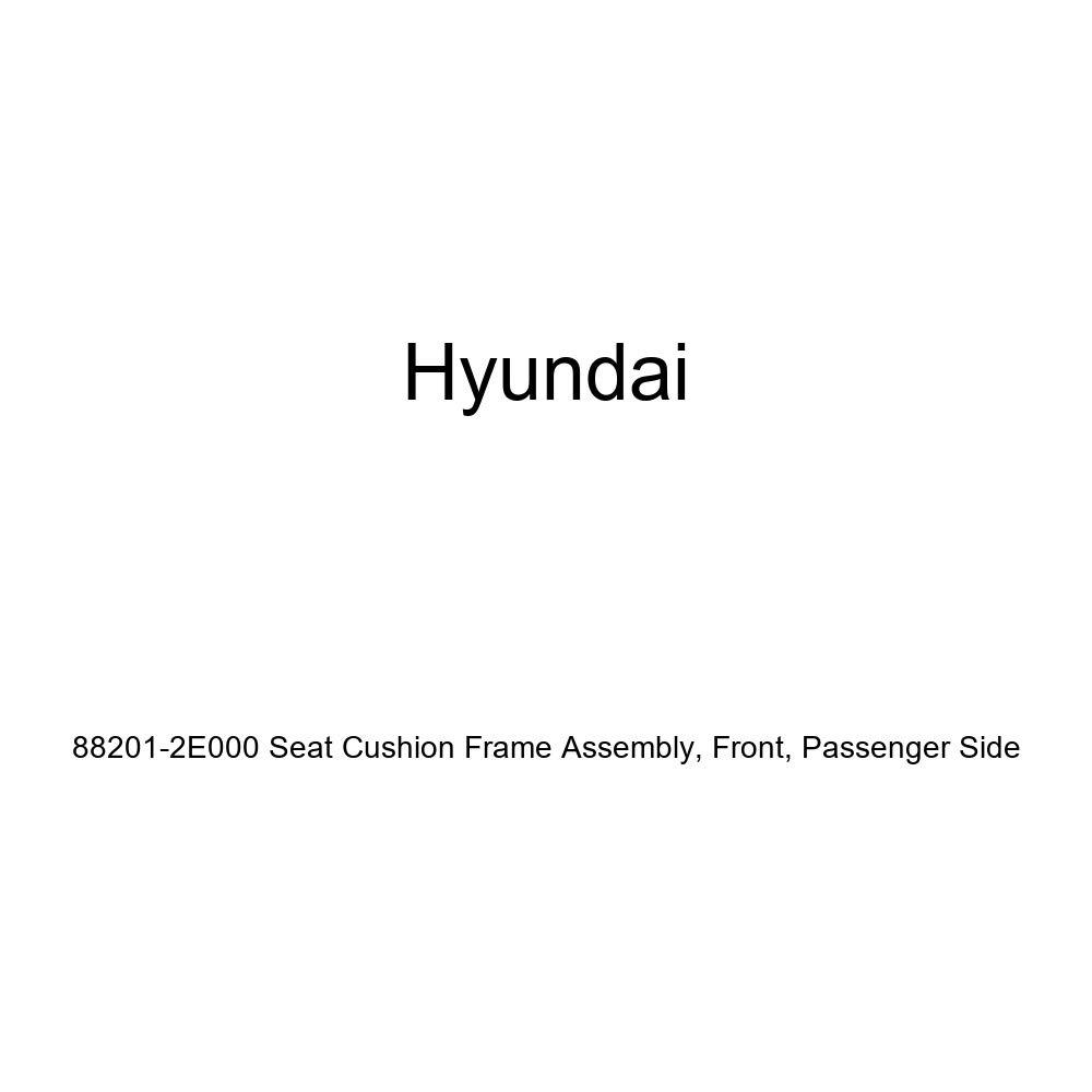 Front Genuine Hyundai 88201-2E000 Seat Cushion Frame Assembly Passenger Side