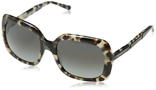 Michael Kors Women's Nan MK2049 55mm Milky Tortoise/Grey Gradient - Tortoise Michael Kors Sunglasses