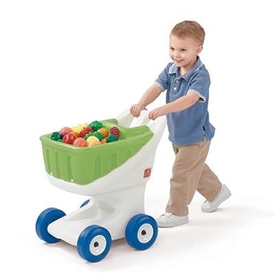 Step2 Little Helper's Kids Grocery Cart: Toys & Games