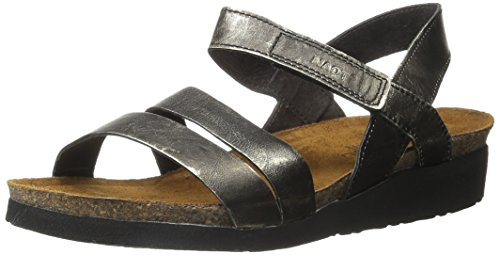 Naot Women's Kayla Sandal Metal Leather bBADmsmF