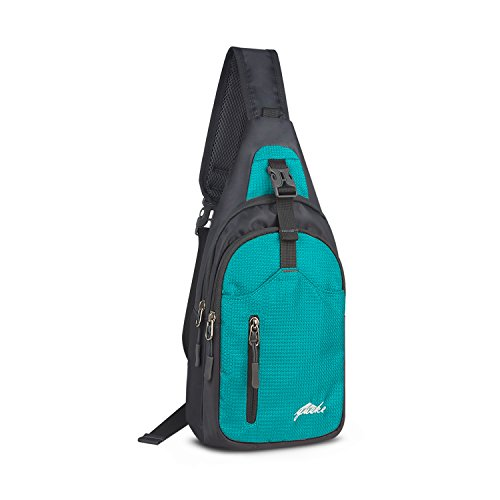 Nylon Crossbody Sling Bag Shoulder Backpack