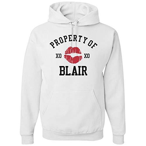 Property of Blair Hoodie: Unisex Gildan Heavyweight Hoodie White