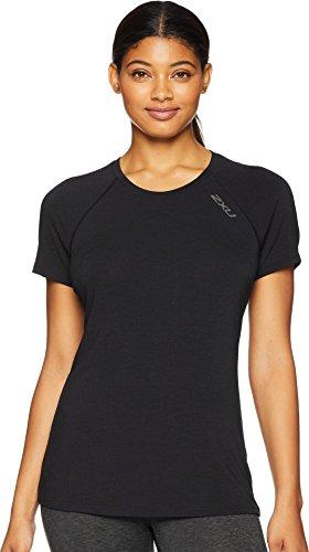 2XU Dames Heat Short-Sleeved Run T-Wr5206a T-shirt
