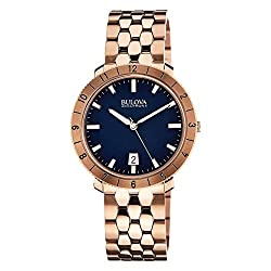 Bulova Unisex Unisex Accutron II - 97B130 Rose Gold Watch