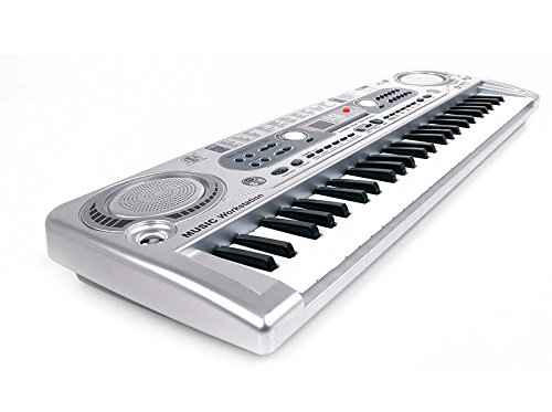 MQ-824USB 54 Key Childs Toy Electronic Keyboard - Music Workstation by Shop4Omni