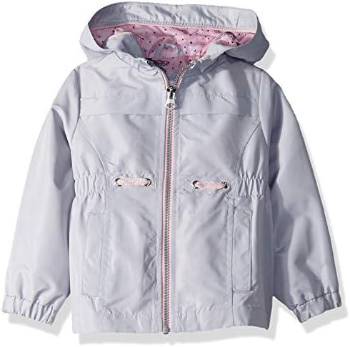 Jessica Simpson Girls Little Lightweight Anorak Jacket with Jersey Lining