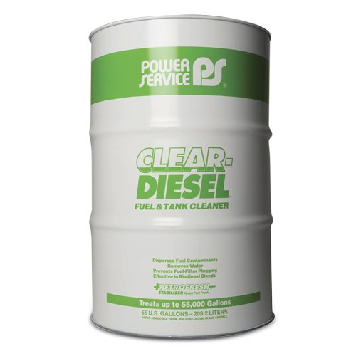Power Service Clear Diesel - 55gal. Drum by Power Service