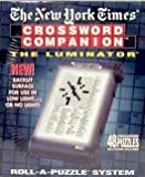 The New York Times Crossword Companion Roll-A-Puzzle with The Luminator